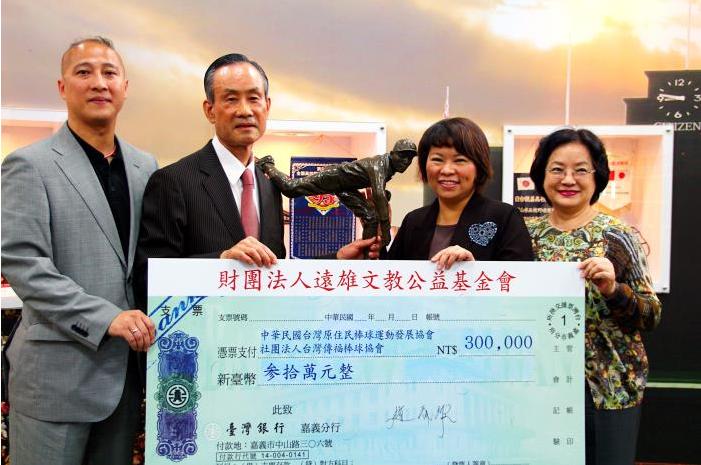 趙藤雄有感於黃市長對家鄉的愛與熱情,是他堅持不懈建造台灣棒球館的原動力之一。