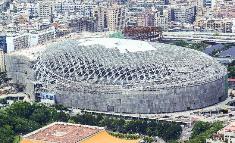 台北大巨蛋 (taipei farglory dome)