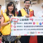 社會公益團體-遠雄志工團捐物資做愛心送暖台灣