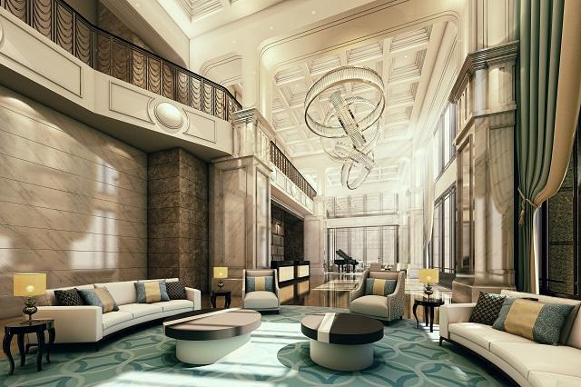 台中買房投資 - 尊榮典雅迎賓大廳