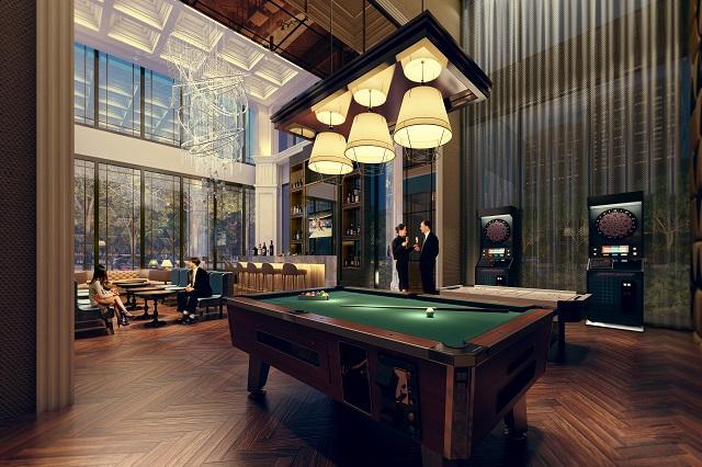 台中買房投資 - 文心匯 Rockefeller運動交誼廳