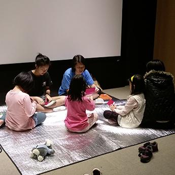 汐止活動 - 吳頻曲英文講師與故事小天使團隊