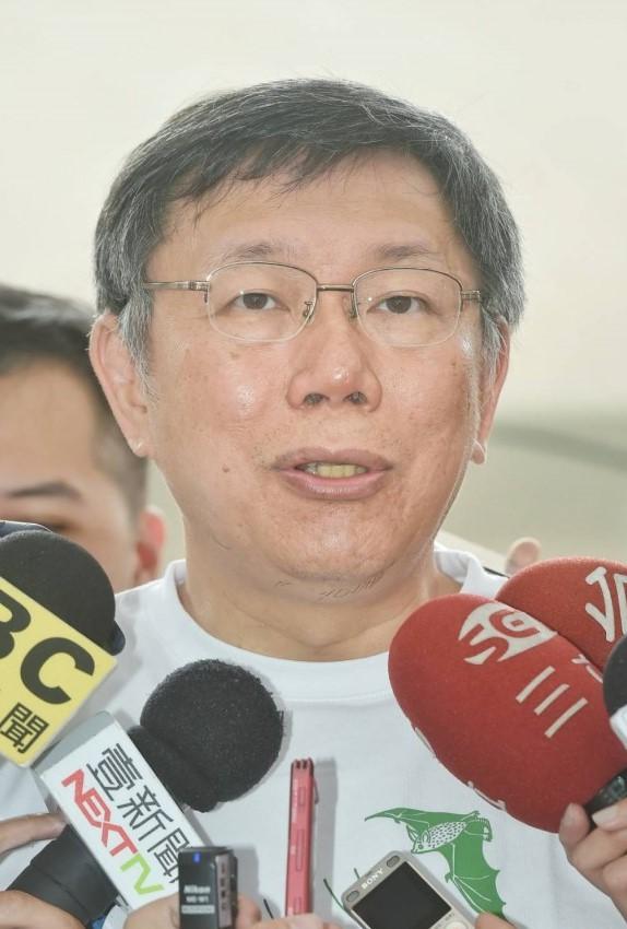 大巨蛋移樹 - 柯市長表示,台北市移樹有SOP