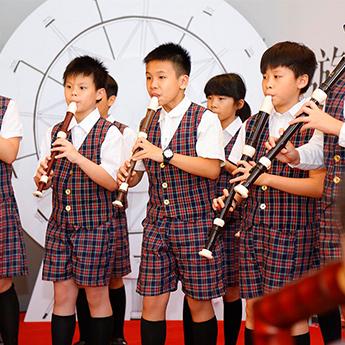 汐止活動 - 精彩的青山直笛隊演奏凱爾特族 音樂組曲