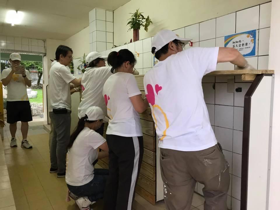 社會公益活動-修繕廁所