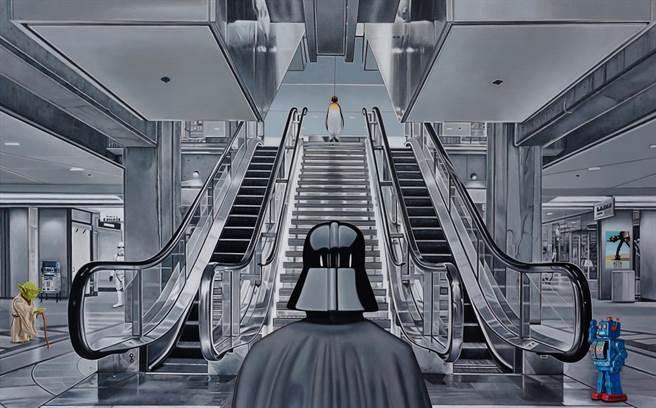 互動展覽-通勤地鐵