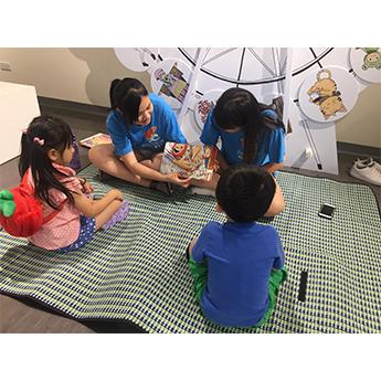 遠雄活動-讓參與的孩子們能融入故事的美妙世界中
