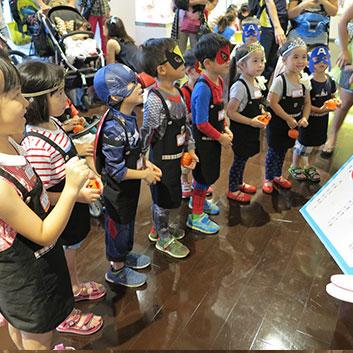 遠雄活動-在進去充滿萬聖節氣氛的博物館前也要先學習博物館禮儀!